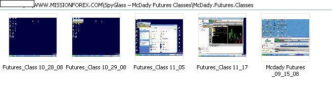 SpyGlass – McDady Futures Classes